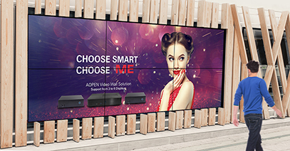 AOPEN enhances visual quality of digital signage with AMD Ryzen™ Embedded Processors